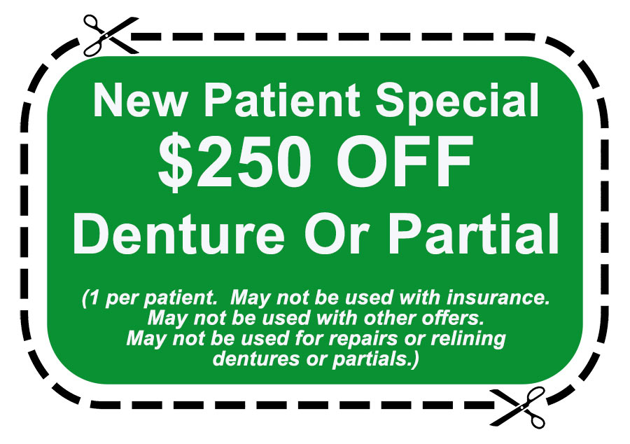 Denture Coupon for Berkeley Dental Care